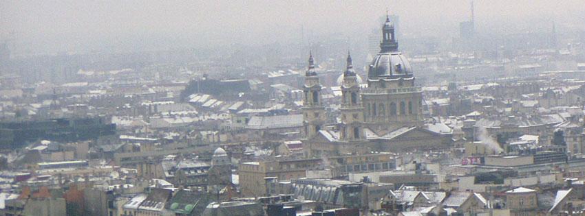 Facebook Borítóképek/Most nézett borítóképek: Téli borítókép Facebookra a Szent István bazilikáról és a belváros egy részéről - idézettel - ingyen - borítóképek - számítógépre - letöltése - karácsonyi - facebook - háttérképek