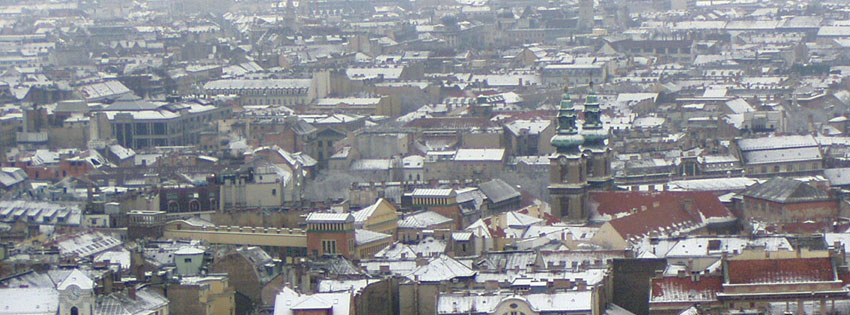 Facebook Borítóképek/Évszakok/Tél: Téli Facebook borítókép a Nagyboldogasszony főplébániával és a belváros egy részletével - számítógépre - letöltése - ingyen - karácsonyi - háttérképek - borítóképek - idézettel - facebook