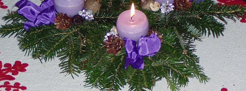 Facebook Borítóképek/Vallás/Advent: Advent első hetére való borítókép Facebookra - háttérképek - számítógépre - borítóképek - ingyen - karácsonyi - idézettel - facebook - letöltése
