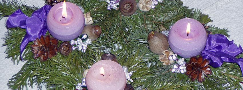 Facebook Borítóképek/Ünnepek/Advent: Advent harmadik hetére való borítókép Facebookra - letöltése - idézettel - háttérképek - számítógépre - borítóképek - ingyen - facebook - karácsonyi