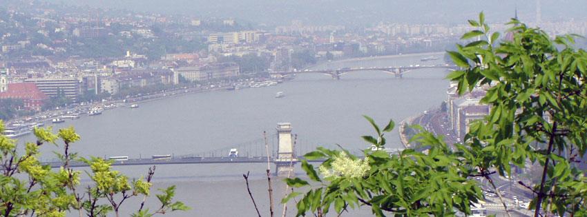 Facebook Borítóképek/Városok: Facebookra való tavaszi borítókép a Dunával valamint a Lánchíddal és a Margit híddal továbbá a belváros egy részével - letöltése - karácsonyi - ingyen - facebook - idézettel - borítóképek - számítógépre - háttérképek