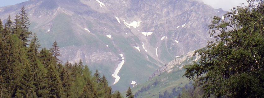 Facebook Borítóképek/Országok/Ausztria: Facebookra való nyári borítókép a karintiai Alpokról fenyőkkel - borítóképek - számítógépre - háttérképek - ingyen - facebook - karácsonyi - idézettel - letöltése