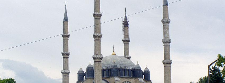 Facebook Borítóképek/Vallás/Templomok Nyári borítókép Facebook idővonalra az edirnei Szelim-mecsetről - ingyen - letöltése - idézettel - számítógépre - karácsonyi - facebook - borítóképek - háttérképek