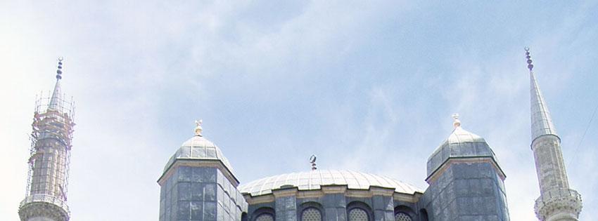 Facebook Borítóképek/Építmények/Templomok Nyári Facebook borítókép az  Edirne-i (Drinápoly)  Szelim mecset tornyairól - facebook - ingyen - karácsonyi - borítóképek - letöltése - idézettel - számítógépre - háttérképek