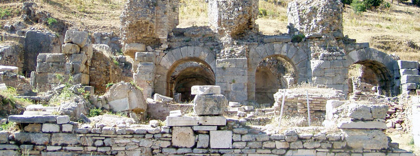 Facebook Borítóképek/Országok/Törökország: Nyári borítókép Facebookra az Epheszosz-i (Efézus) Odeon egy részletével - karácsonyi - háttérképek - ingyen - idézettel - borítóképek - letöltése - facebook - számítógépre