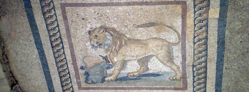Facebook Borítóképek/Állatok/Vadállatok: Nyári borítókép Facebookra egy Epheszosz-i (Efézus) patríciusház mozaikjával - letöltése - karácsonyi - számítógépre - facebook - borítóképek - idézettel - ingyen - háttérképek
