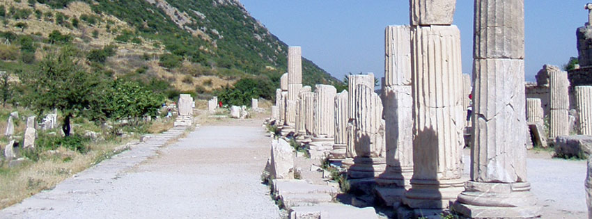 Facebook Borítóképek/Országok/Törökország: Nyári borítókép Facebookra Epheszosz (Efézus) egyik útjáról, az Arkadiana útról - letöltése - háttérképek - ingyen - borítóképek - számítógépre - karácsonyi - facebook - idézettel